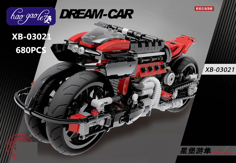 XB-03021 680pcs building block bricks sets Peregrine falcon batman motorcycles children gift baby toys riggs r miss peregrine s home for peculiar children