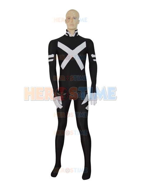 Marvel Comics X Force Psylocke Female Zentai Superhero Spandex Lycra Psylocke Cosplay Costume