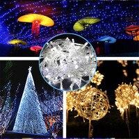 50M 400LEDS 220V 110V LED Christmas Tree Lights Wedding Party Decoration Twinkle Led String Light Holiday