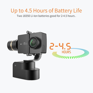 Image 4 - 李ハンドヘルド4 18kアクションカメラ用3軸パン/チルト/ロール手動調整320度コンパクト & ライト