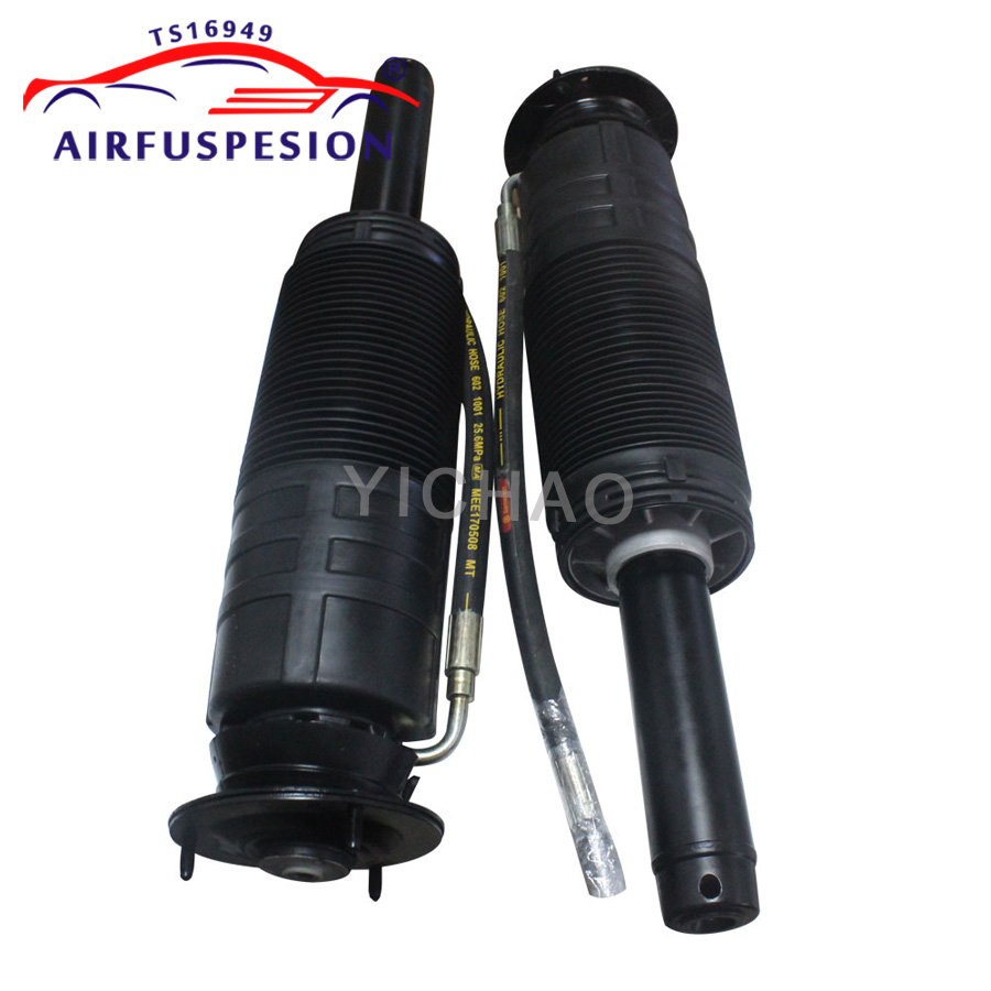 Pair For Mercedes W220 C215 S500 S Class Front Hydraulic ABC Shock Absorber Strut 2203201538 2203208113