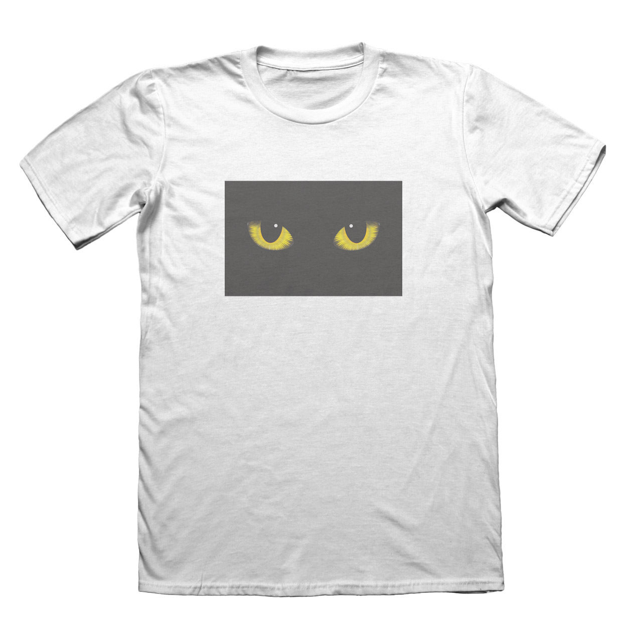 Cats Eyes T-Shirt - Mens Fathers Day Christmas Gift #7408