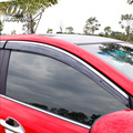 Para KIA RIO K2 ventana visor Toldos y Refugios lluvia cubierta Exterior parte decoración del coche-productos de peluquería accesorio 2010-2016