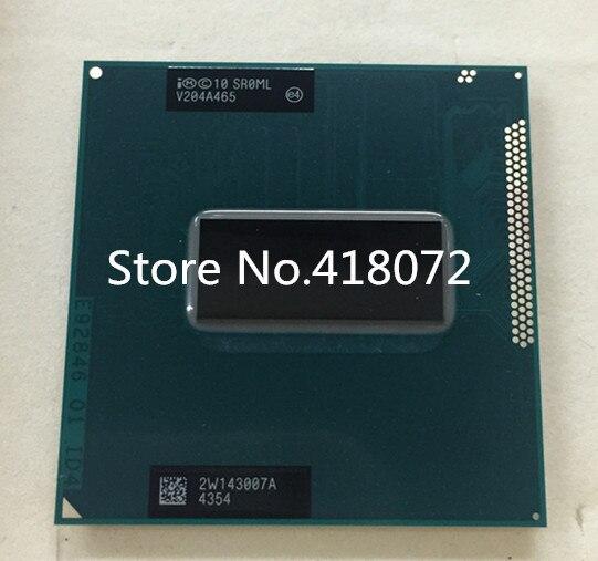 I7 3720QM SR0ML I7-3720QM 2.6-3.6 Г/6 М PGA cpu компьютера НОВЫЙ ЧИПСЕТ