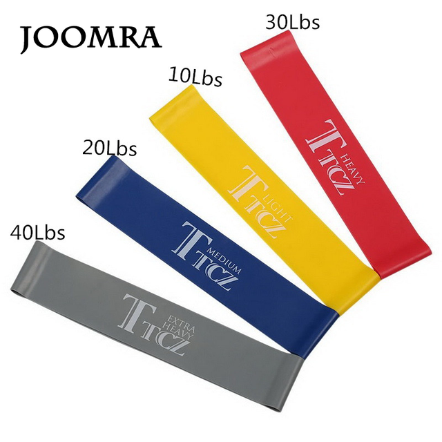 4 Levels Pilates Yoga Rubber Resistance Bands Fitness Loop rope Stretch Band Crossfit elastic resistance band for bodybuilding