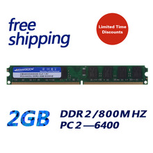 KEMBONA Brand New Sealed desktop RAM Memory DDR2 2GB 800mhz PC2-6400 2G 240pin Lifetime warranty / Free Shipping