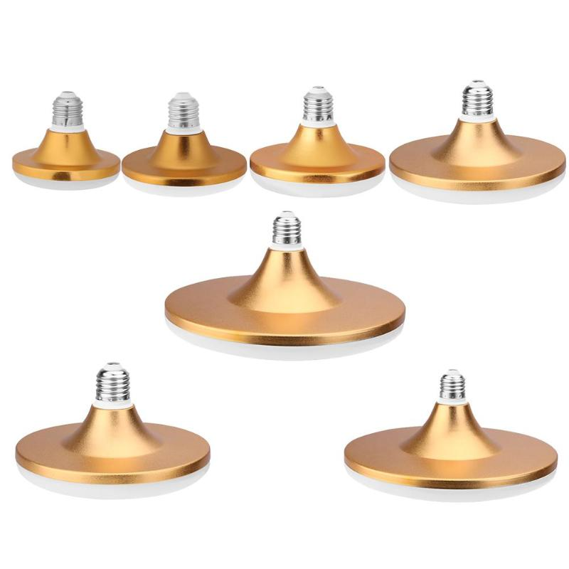 Energy Saving E27 LED Lamp 12-60W SMD 5730 Flat High Power LED Light Bulb 220V E27 UFO LED Light for Home Lighting
