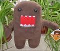 30cm Standing DOMO KUN Plush Toy,  Baby Kids  Cute BRITHDAY Doll Gift Free Shipping
