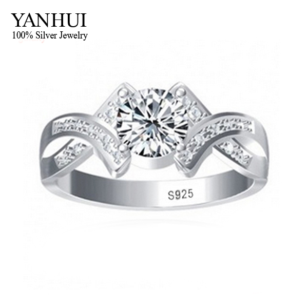 free sent silver certificate 100 925 sterling silver wedding rings for men and women - Silver Wedding Rings