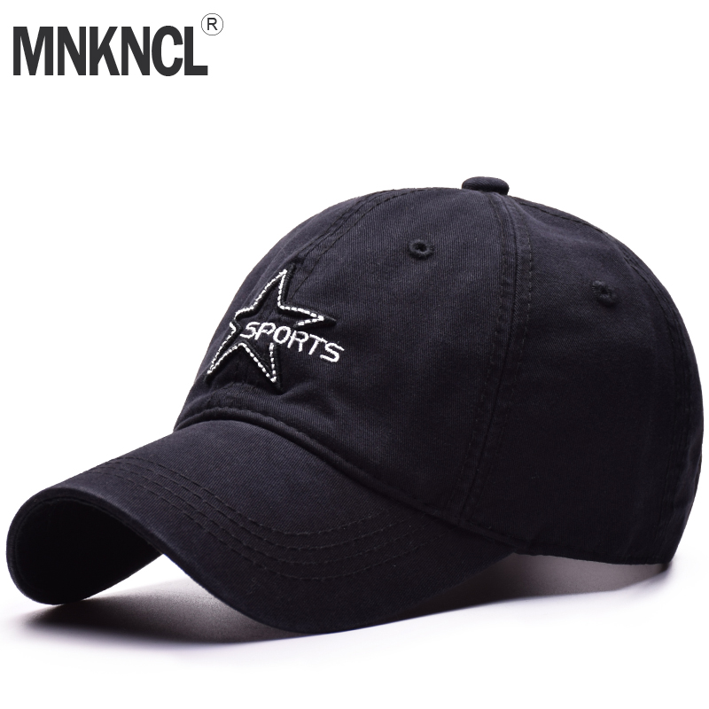 High Quality Unisex 100% Cotton Outdoor Baseball Cap Pentagram Embroidery Snapback Fashion Sports Hats For Men & Women Caps fashion sports baseball cap men