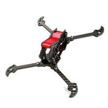 IFlight TAU-H5.5 225mm Distância Entre Eixos 5mm Braço 3 K Fibra De Carbono FPV Kit de corrida Quadro Vermelho para Modelos RC Zangão Multicopter DIY partes