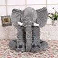 2017 Macio de Alta Qualidade Por Atacado Elefante Animal Dos Desenhos Animados Do Bebê Recém-nascido Pescoço Travesseiro Espaço Travesseiro para As Crianças Boneca de Brinquedo de pelúcia Almofada Do Assento