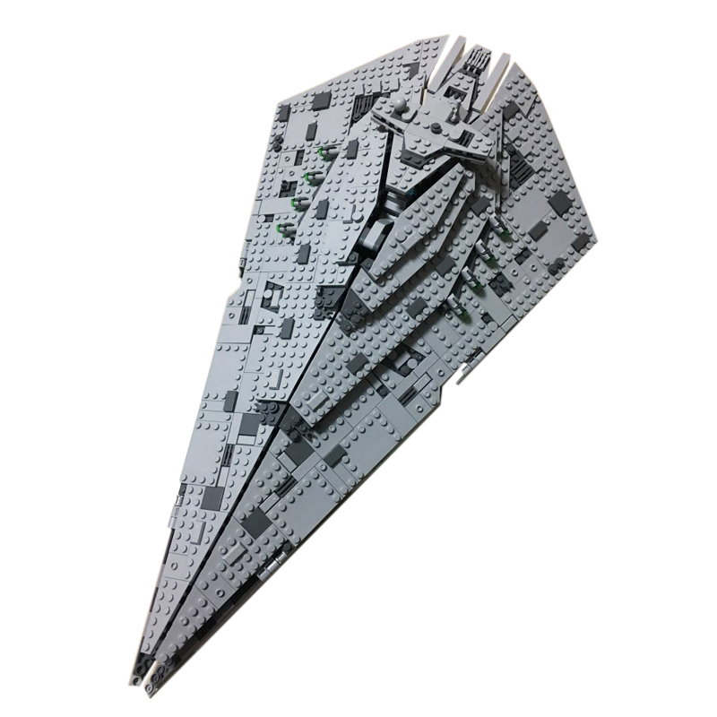 Building bricks 05131 1585PCS Star Plan Wars First Order Star Destroyer Building Blocks  ...