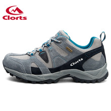 2017 Clorts Hiking Shoes Men Suede Trekking Shoes Waterproof Outdoor Mountain Shoes Anti-Slipping Outdoor Shoes HKL-828A/B/C
