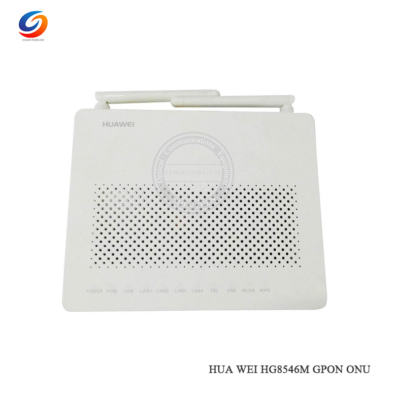 Wifi 3fe Port+1 Telephone 1ge Port Hgu Route Mode gpon Ont Carefully Selected Materials Delicious Original Hottest Second-hand Huawei Hg8546m Gpon Terminal Onu