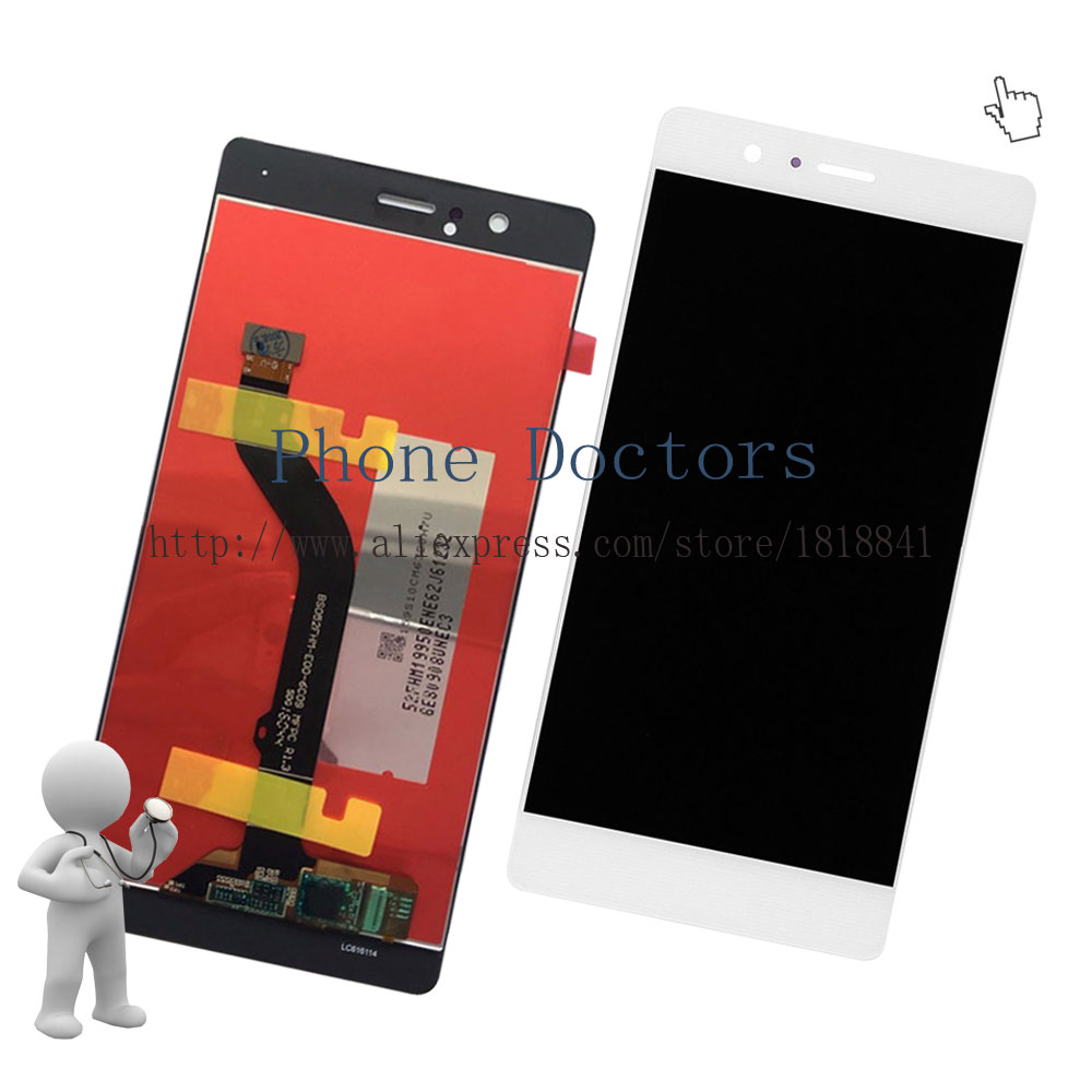 imágenes para 5.2 ''full lcd display + touch screen asamblea del digitizador para huawei p9 lite/G9 lite VNS-L21/L22/L23/L31/L53; blanco; nueva