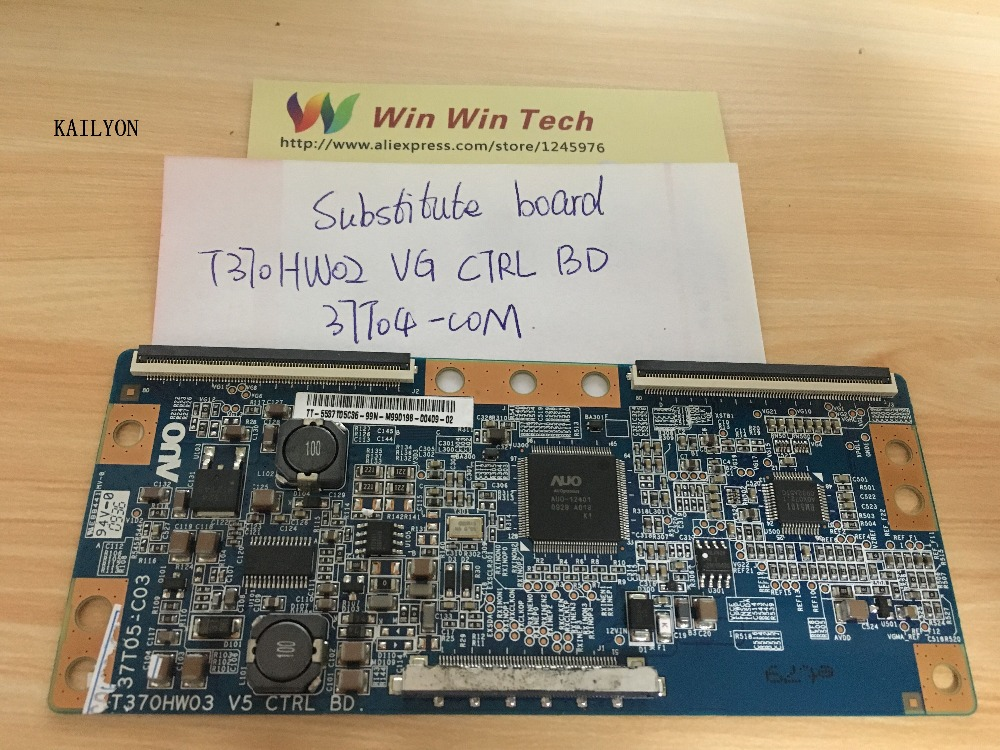 "Substitute boards only working 37"" T con T370HW02 VG CTRL BD 37T04 COM  used parts well work T370HW02 VG CTRL BD 37T04 COM