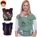 2016 Hot cotton baby carrier mochila ergonómica envuelve infantiles honda tirantes bebé del portador de bebé del portador de bebé infantil BD75