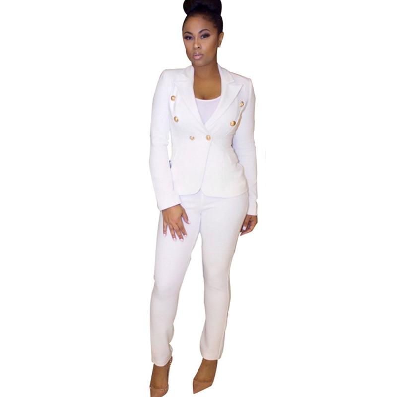 Popular Black & White Pant Suit-Buy Cheap Black & White ...
