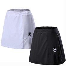 Женская летняя спортивная юбка с шортами, юбки для бадминтона, настольного тенниса, дышащие юбки для йоги, гольфа, бега
