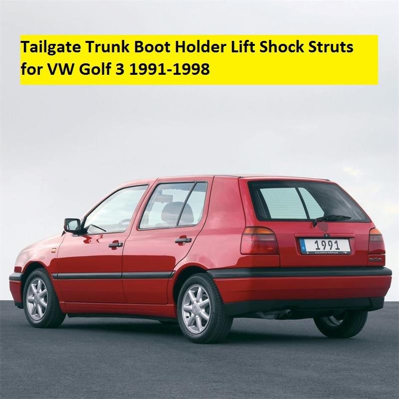 2pcs for vw golf 3 mk3 1992 1993 1994 1995 1996 1997 1998 car styling tailgate trunk boot holder. Black Bedroom Furniture Sets. Home Design Ideas