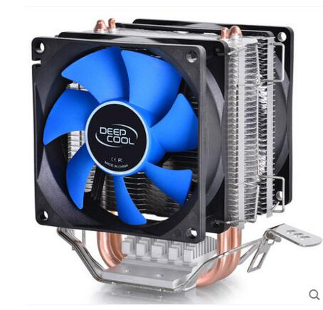 Deepcool PC AMD Intel CPU Heat Sink Fan Processor Radiator Cooling Cooler Fan LGA 775 115X AM2 AM3 FM1 FM2 1366 original soplay for amd all series intel lga 115x cpu cooler 4 heatpipes 4pin 9 2cm pwm fan pc computer cpu cooling radiator fan