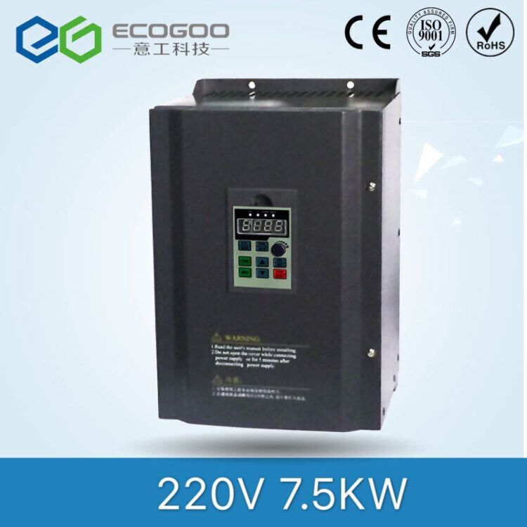 цена на Free shipping! 7.5KW 10HP 3 PHASE 30A FREQUENCY INVERTER FOR SPINDLE MOTOR SPEED CONTROL