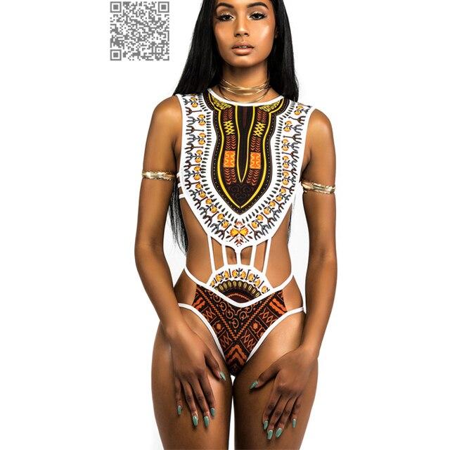 07e7a24be89cb African Trikini Swimwear 2017 Sexy Monokini Swimsuit 1 Piece Thong Bikini  Bodysuit Swimwear Female Sexy One Piece Swim Suits