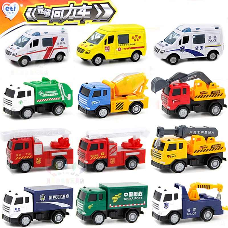1:64 school bus Fire truck ambulance Diecast Car model kids toys multiple choices Toy model car