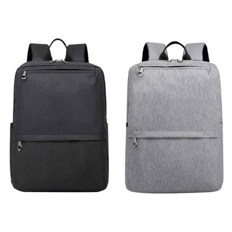 558a79688 Male Zipper Business Men Teen Backpacks Laptop Tablet Leisure School Bags  Multifunction Shoulder Nylon Travel Rucksacks