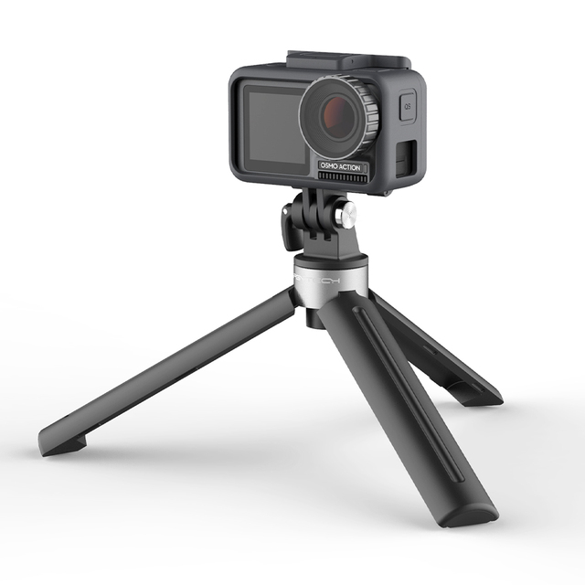 PGYTECH ترايبود سطح المكتب مقبض صغير ل DJI OSMO المحمول 4 oomo جيب 2 GoPro بطل 9 8 عمل كاميرا 1/4 الموضوع ميناء التوسع