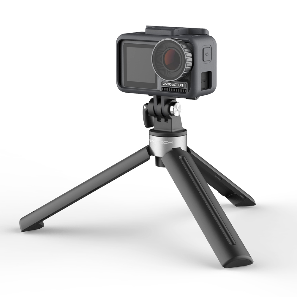 PGYTECH Tripod Mini Handle Desktop For DJI OSMO Pocket GoPro Osmo Action Camera 1/4 Thread Port For Expansion