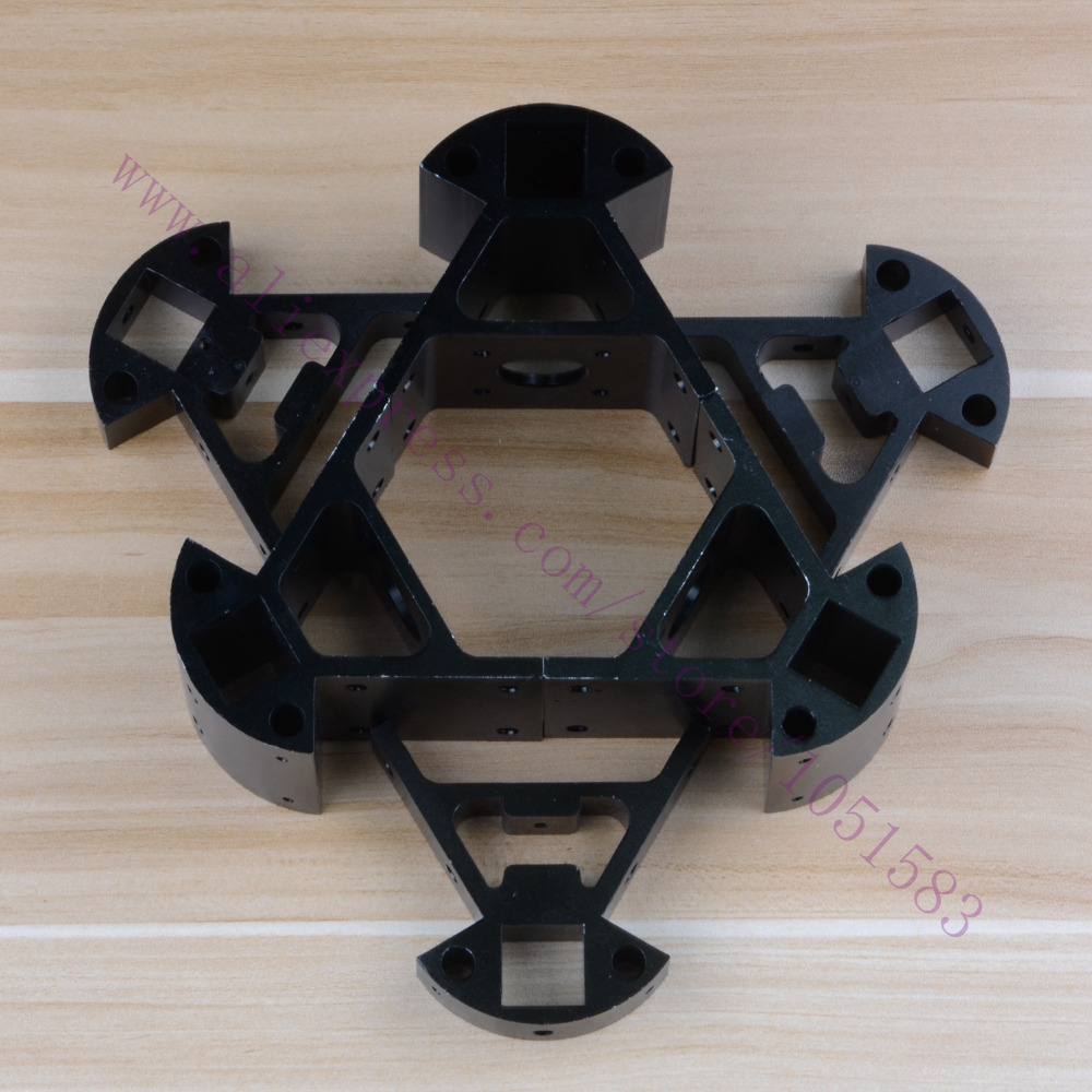 Black RepRap Delta Kossel Mini Corner Fitting Alloy Mount Frame Bottom Vertex+Top Vertex kit F 3d Printer 2020 Extrusions цена 2017