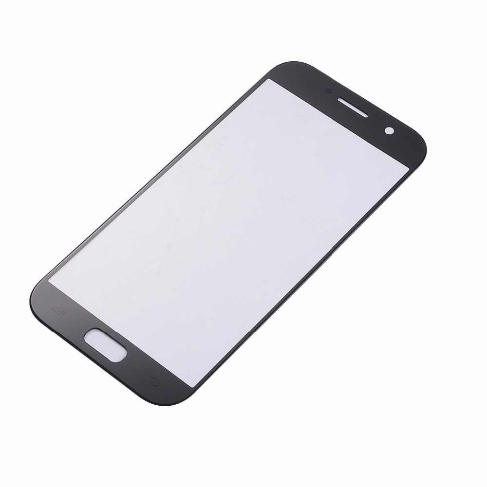 Для samsung Galaxy A3 A5 A7 2017 A320 A520 A720 сенсорный экран сенсор ЖК-дисплей дигитайзер стеклянная крышка с клеем + Инструменты