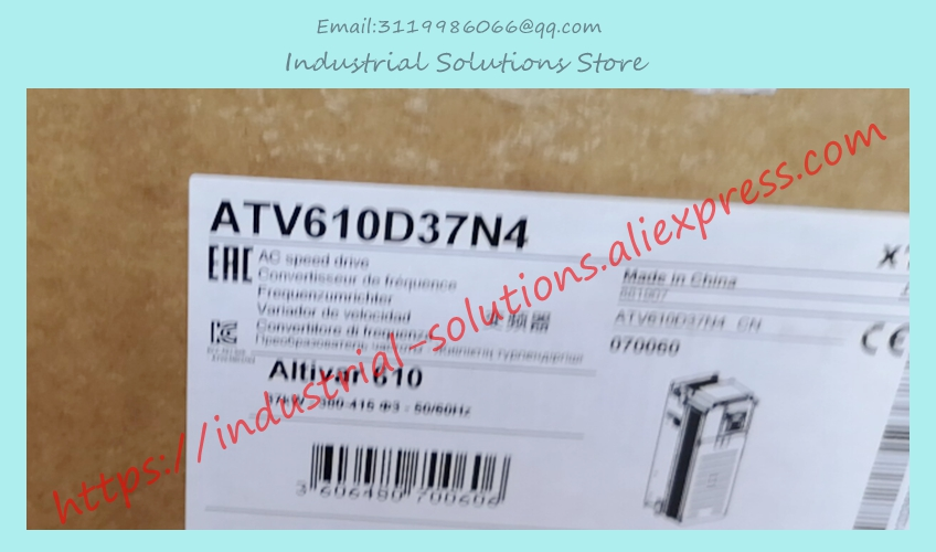 New ATV610D37N4 ATV61OD37N4 three phase 380-415V 37KW integrated panel