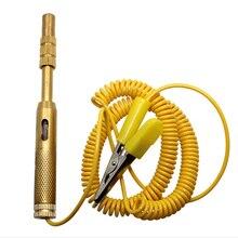 Автомобильный Электрический тест er, автомобильный светильник, лампа для проверки напряжения, карандаш, 6 в, 12 В, 24 В, для Автомобиль Грузовик Мотоцикл, испытательные инструменты DY274