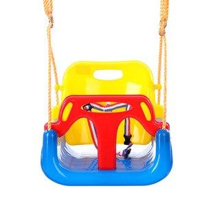 Image 1 - 3 In 1 Multifunctional Baby Swing Hanging Basket Outdoor Kids Toy Baby Swing Toy Patio Swings