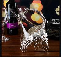 Handgemachte Kristall Rotwein Ausgießer Glas Karaffe Brandy Dekantieren Set Krug Bar Champagner Wasserflasche Trinkgläser Geschenk-in Dekanter aus Heim und Garten bei
