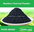 2017 New Sale 250g Premium Activa Ted Bamboo Charcoal Powder 250 g