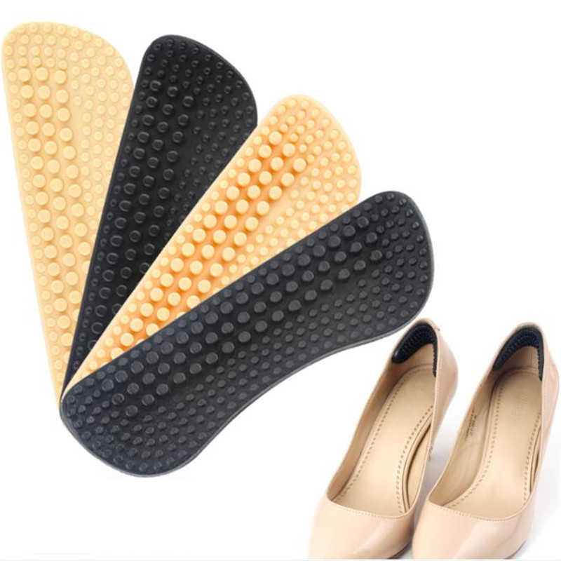 4 Pairs New Fabric Shoe Pads Cushion Liner Grip Back Heel Inserts Insoles