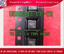 Frete grátis 10 pçs/lote usb3343 USB3343-CP ethernet chip qfn24 novo pacote original