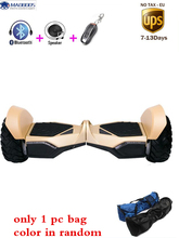 Bluetooth+bag+remote Big Tire 10 inch Hoverboard Adult Self Balancing Electric Scooter Unicycle Skywalker Skateboard Hover board