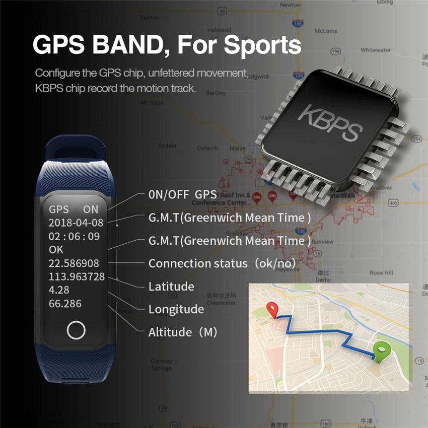 0042fe1beb6 Atualização Cor Relógio Inteligente GPS Sportwatch Corrida Nadar ...