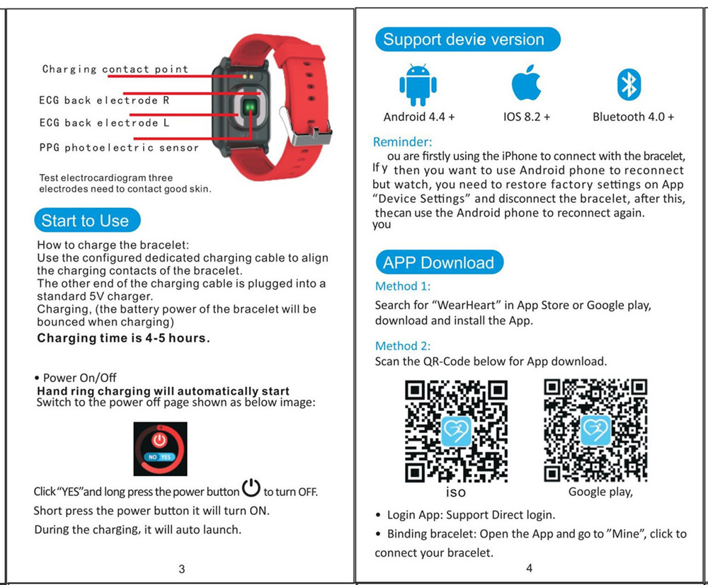 I-SWIM E04 Smart Band Fitness Tracker ECG/PPG Blood Pressure Heart Rate Monitor Waterproof Smart Watch for Xiaomi Android IOS 23