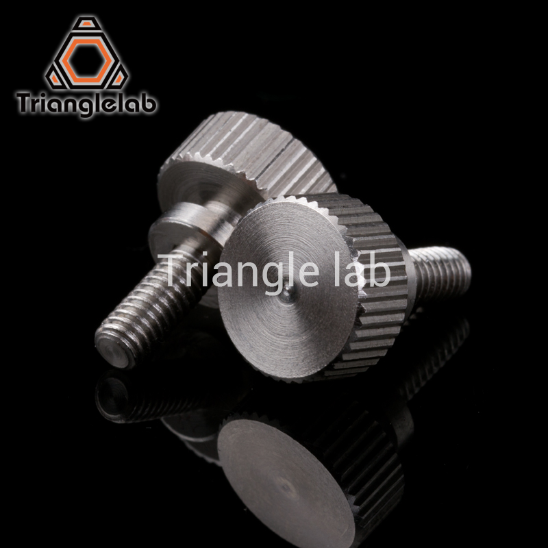 1 قطعه Trianglelab Titan Thumb Wheel for printer 3D titan Extruder برای دسکتاپ FDM دسکتاپ MKAP J8 head Bowden i3 TITAN AQUA