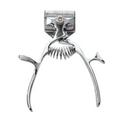 Moda antigua Manual cortadora de corte de pelo mano empuje bajo ruido no eléctricos de corte de pelo