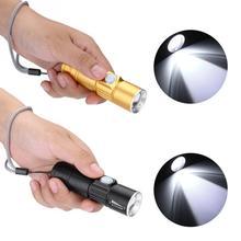 Светодиодный фонарик USB фонарик проектор пеший туризм кемпинг открытый мини портативный