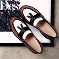 Новый Бренд Кожаные Ботинки Женщин Удобные Оксфорд Обувь Для Женщин Случайные Плоские Женские Туфли