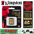 SALE Kingston memory sd card 300X Class 10 UHS-I SDHC SDXC HD 3D video 128gb high speed 90MB cartao de memoria tarjeta carte sd