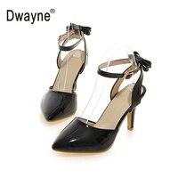 Kadın Ayakkabıları Rugan Yaz Sandalet Ayakkabı 33 Kadın Sandalet Kadın zapatos mujer Sandalias Mujer sandalia feminina